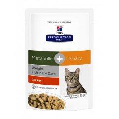 HILLS Metabolic + Urinary Stress Feline Frischebeutel...