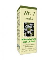 Albrecht Bachblüten Nr. 1 - Notfall 10g Globuli...
