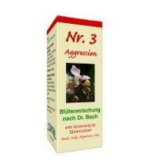 Albrecht Bachblüten Nr. 3 - Aggression 10g Globuli...