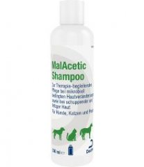 Albrecht MalAcetic Shampoo 230ml für Hunde, Katzen...
