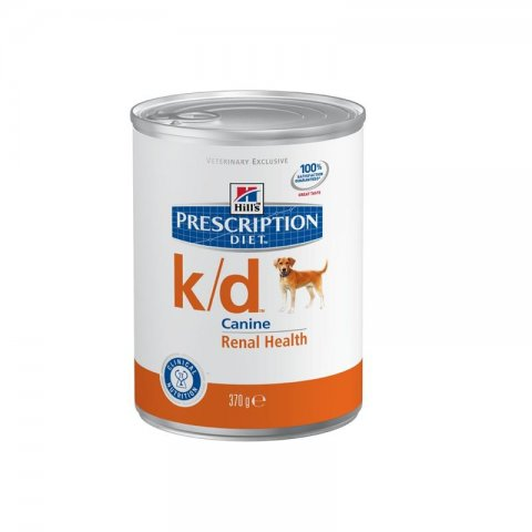 HILLS Prescription DIET k/d Canine 12 x 370g Nassfutter für Hunde