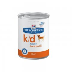 HILLS Prescription DIET k/d Canine 12 x 370g Nassfutter...