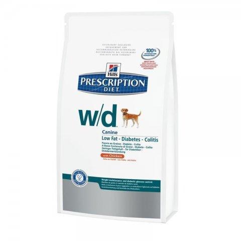 HILLS Prescription DIET w/d Canine Trockenfutter für Hunde