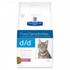 HILLS Prescription DIET d/d Feline Ente Erbsen 1.5kg...