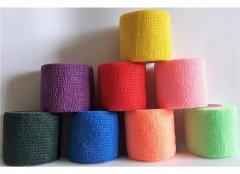 Albrecht ColorFlex Binde 5cm x 4,5m gedehnt - neongrün