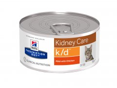 Hills Prescription Diet Feline k/d feingehackt mit Huhn...