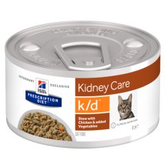 Hills Prescription Diet k/d Feline Ragout mit Huhn und...