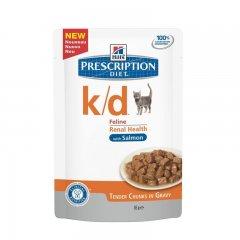 HILLS Prescription DIET k/d Feline Lachs 85g...