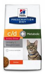 Hills PRESCRIPTION DIET c/d Urinary Stress + Metabolic...