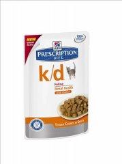 HILLS Prescription DIET k/d Feline Huhn 85g Frischebeutel...