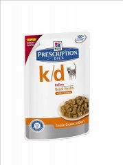 Hills Prescription Diet k/d Feline mit Huhn 85g...