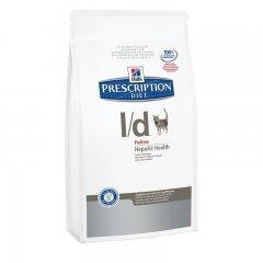 HILLS Prescription DIET l/d Feline 1,5kg Trockenfutter...