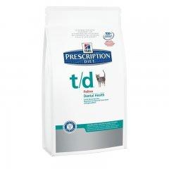 HILLS Prescription DIET t/d Feline Trockenfutter für...