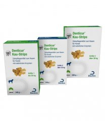 Albrecht Denticur® Kaustrips mit Enzymen...