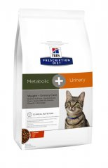 HILLS Prescription DIET Metabolic + Urinary Stress Feline...
